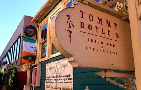 Tommy Doyle's in Harvard Square.
